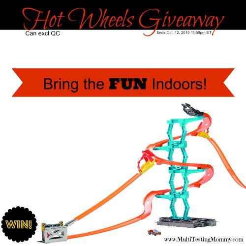 Hot Wheels Giveaway