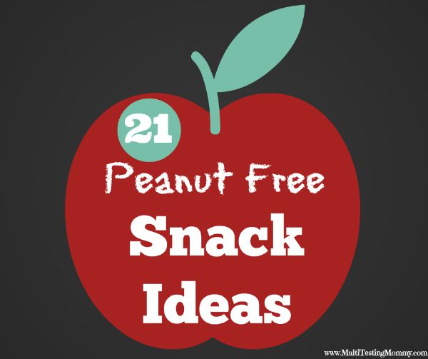 Homemade Peanut Free School Snacks