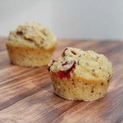quinoa cranberry muffins