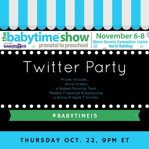 babytime show twitter party