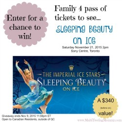 Sleeping Beauty on Ice Giveaway