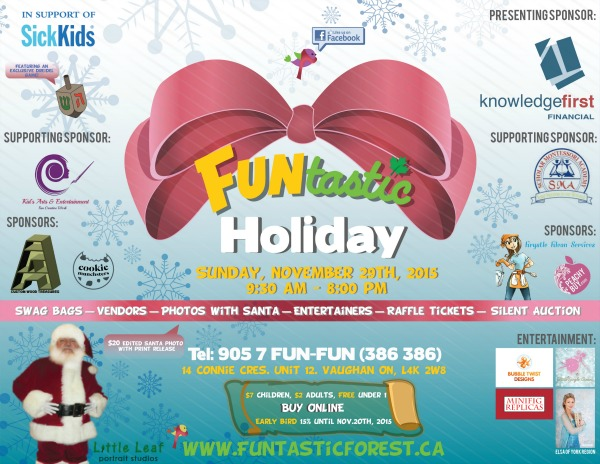 Funtastic Forest Holiday Event