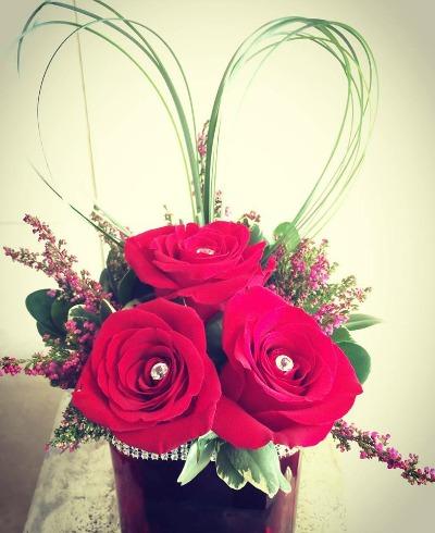 Valentine Blooming Wellies