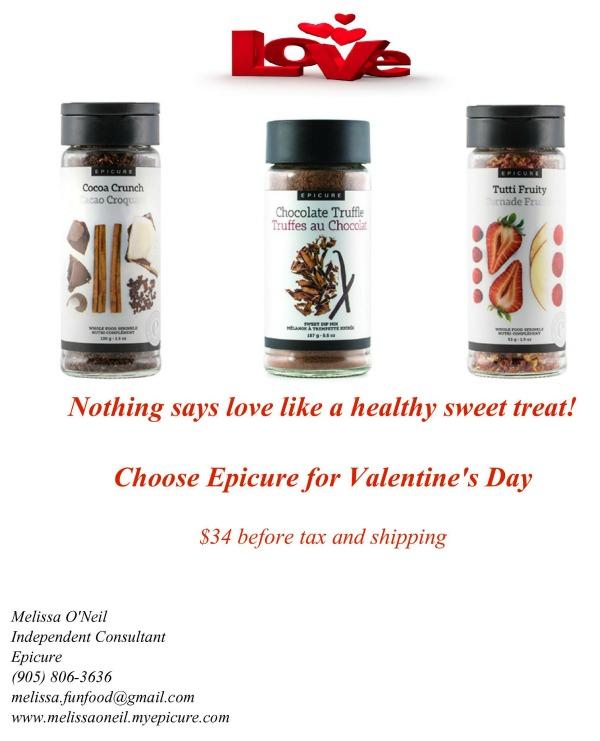 Valentine Epicure Food