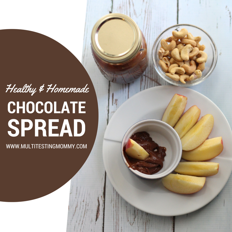 Healthier Homemade Chocolate Spread