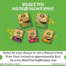 Healthy Breakfast Giveaway
