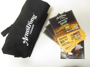 Armstrong cheese Giveaway Pack