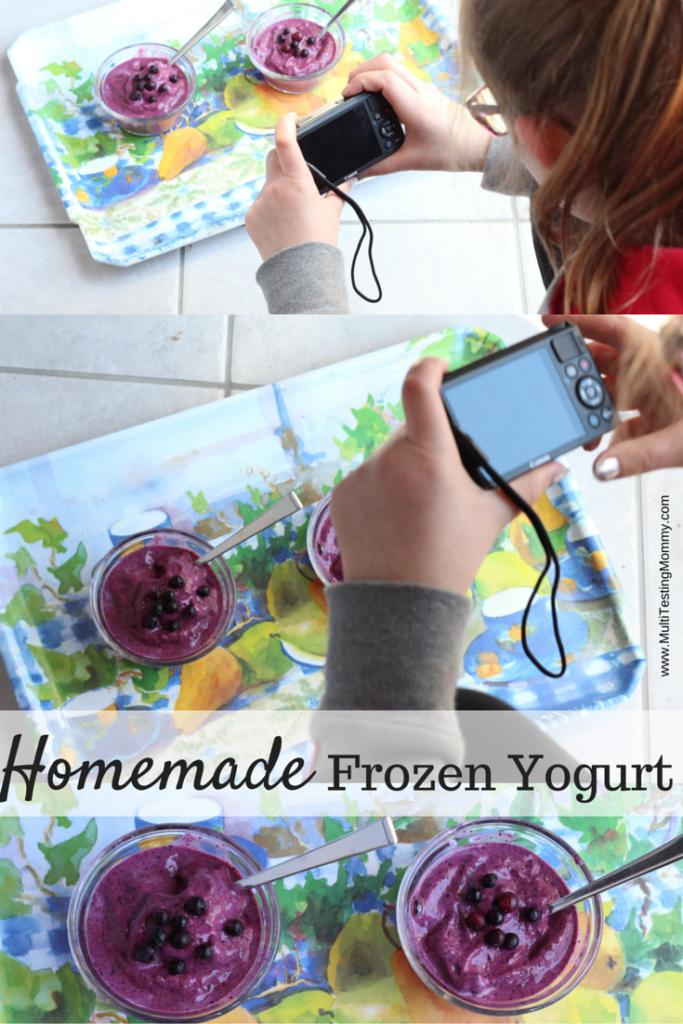 Homemade Probiotic Frozen Yogurt