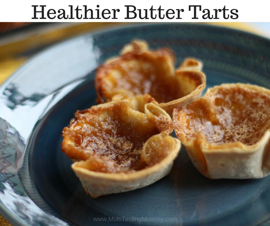 Healthier Butter Tarts
