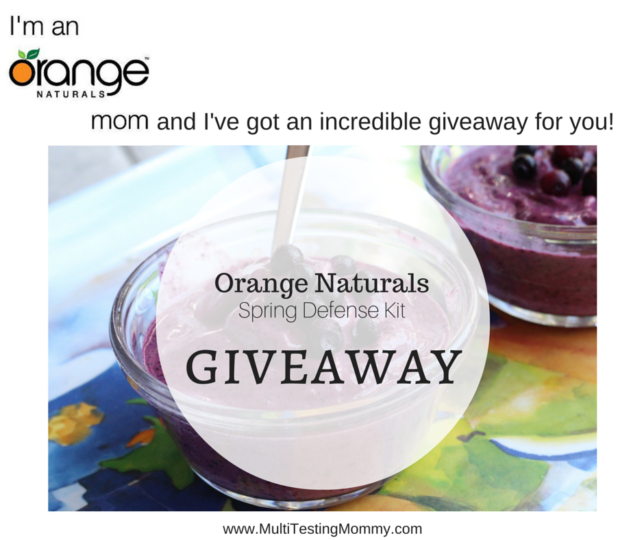 Orange Naturals Spring Defense Kit Giveaway