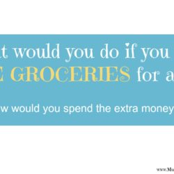 Free Groceries For A Year Food Basics