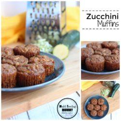 Zucchini-Muffins