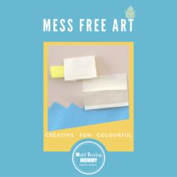 Mess Free Art