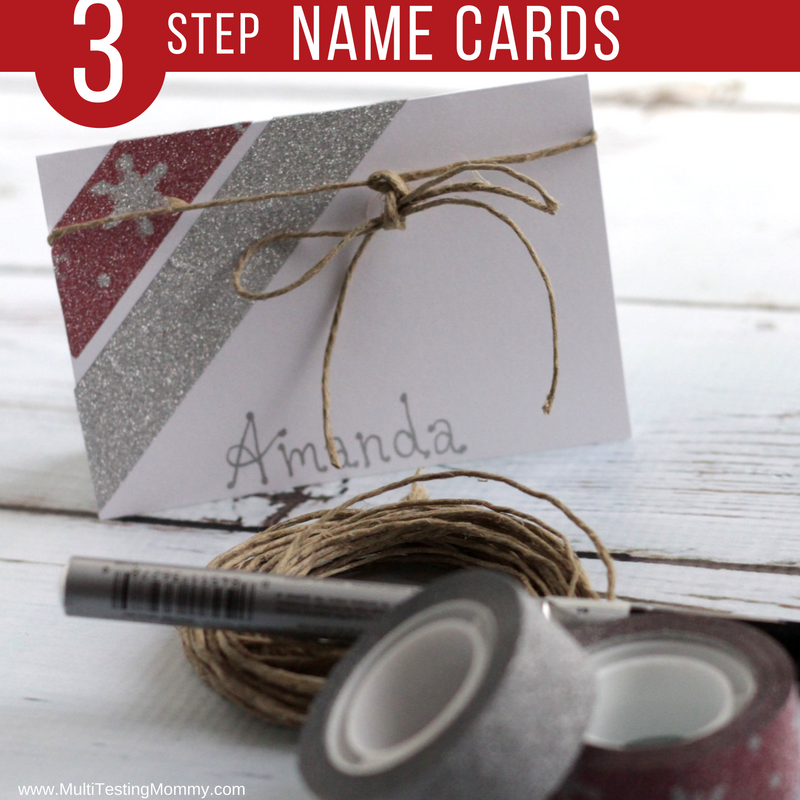 Homemade Name Cards