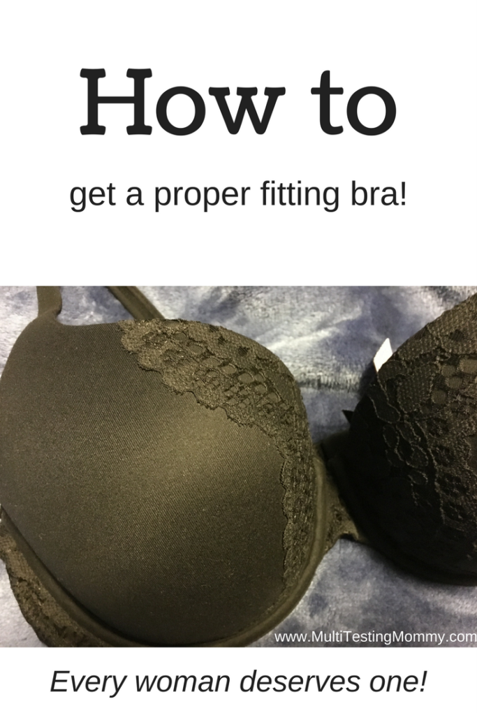proper fitting bra