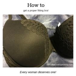 proper fitting bra