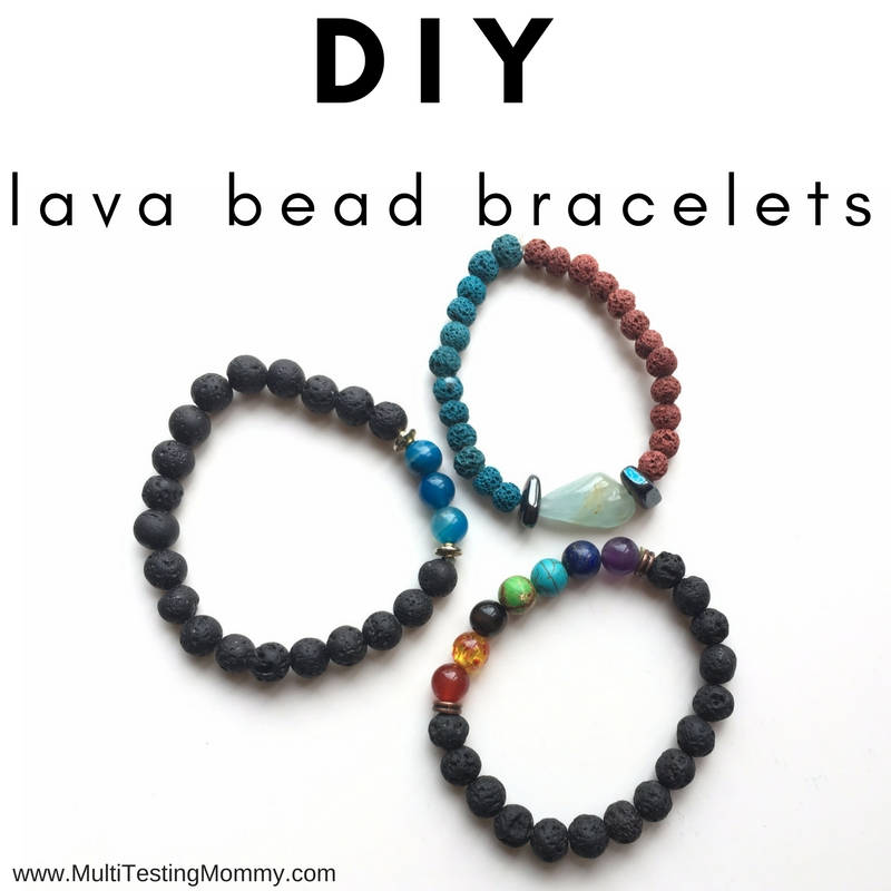 Lava Bead Bracelet: How to Make Your Own (for kids and adults)