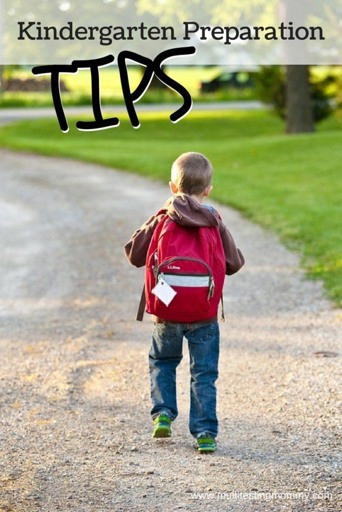 back to school tips for kindergarten