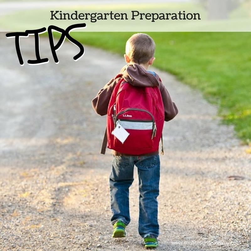 kindergarten preparation